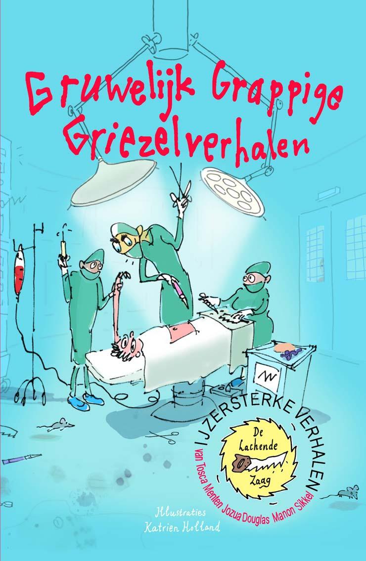 Gruwelijk Grappige Griezelverhalen kerntitel
