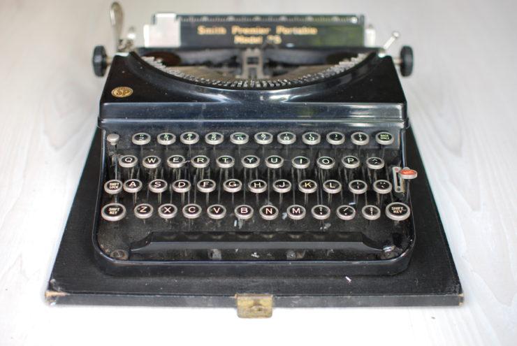 Mijn eerste schrijfmachine -- Jozua Douglas