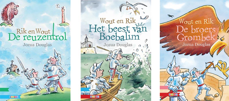 Kinderboekenweek 2020 Jozua Douglas - Rik en Wout