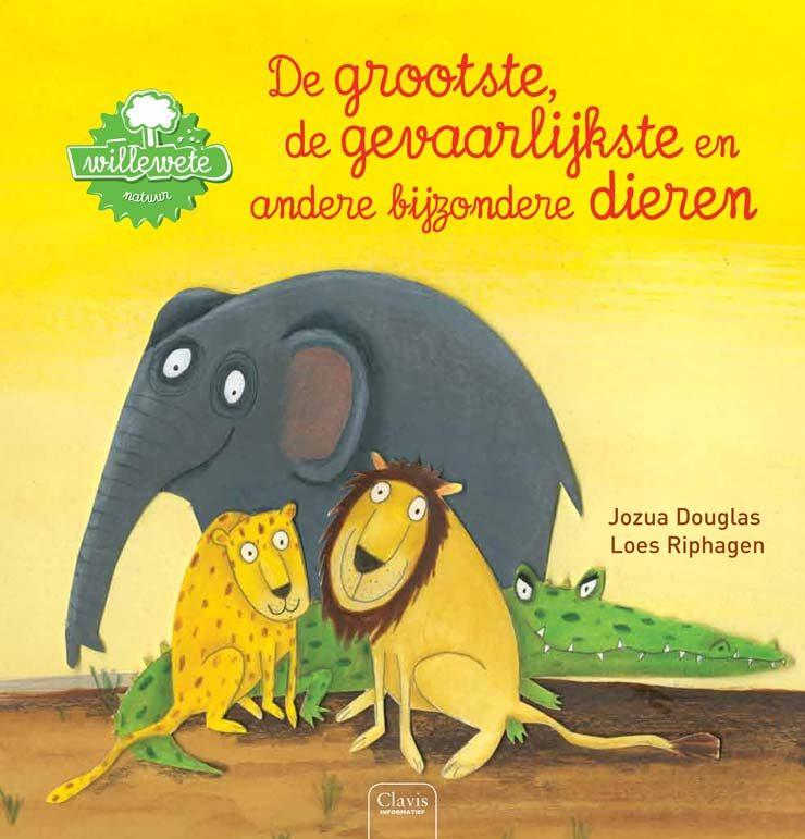 Jozua Douglas prentenboek over dieren