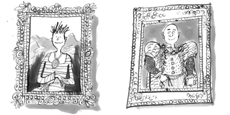 Jozua Douglas en Tosca Menten De gouden grijns