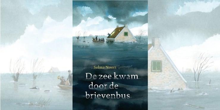 De zee kwam door de brievenbus leestip Kinderboekenweek 2020