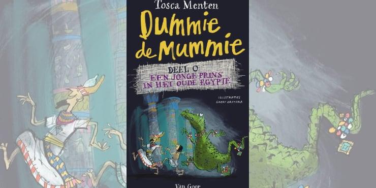 Dummie de mummie 0 leestip kinderboekenweek