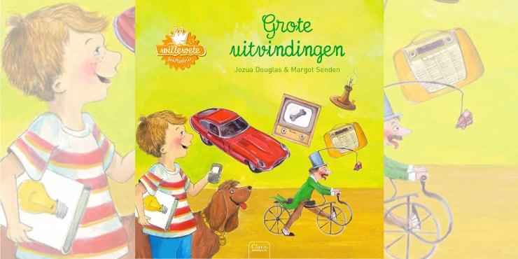 Grote uitvindingen leestip kinderboekenweek 2020
