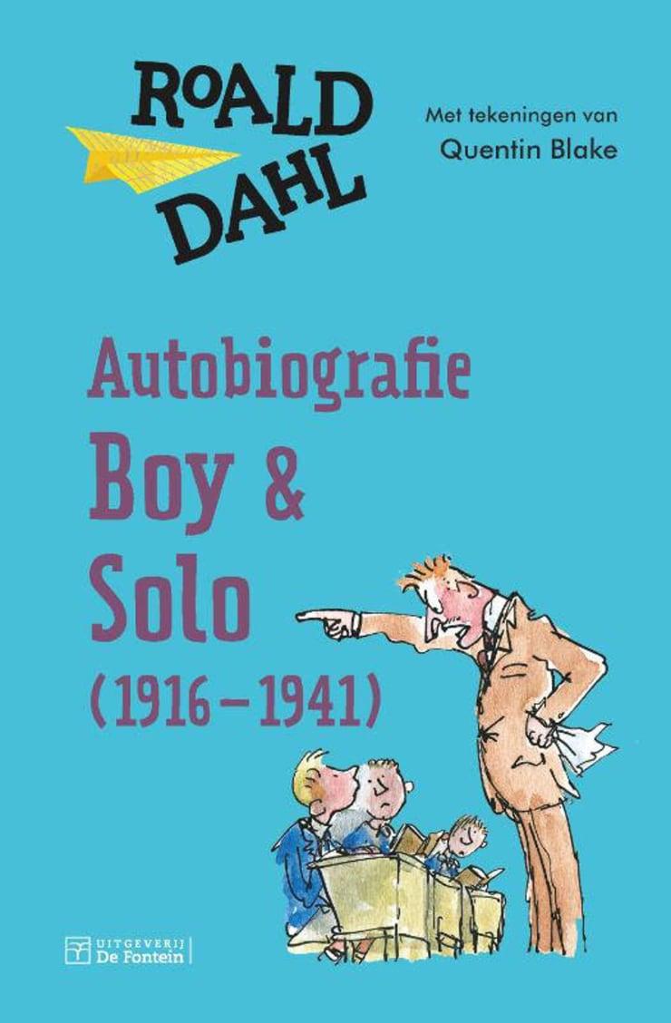 Autobiografie van Roald Dahl kinderboekenweek 2020